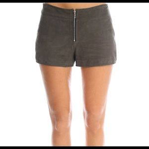 RAG & BONE | Fontaine Suede Shorts size 4